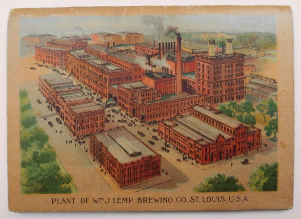 Toasts. Lemp Brewing Co., St. Louis, Missouri